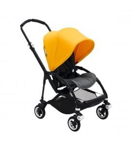 Silla de paseo Bugaboo Bee 5 Completa negro- gris melange-amarilla