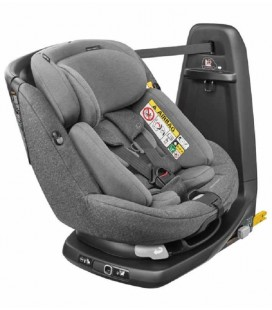 Silla Auto AxissFix Plus I-size Bebe Confort Sparkling Grey