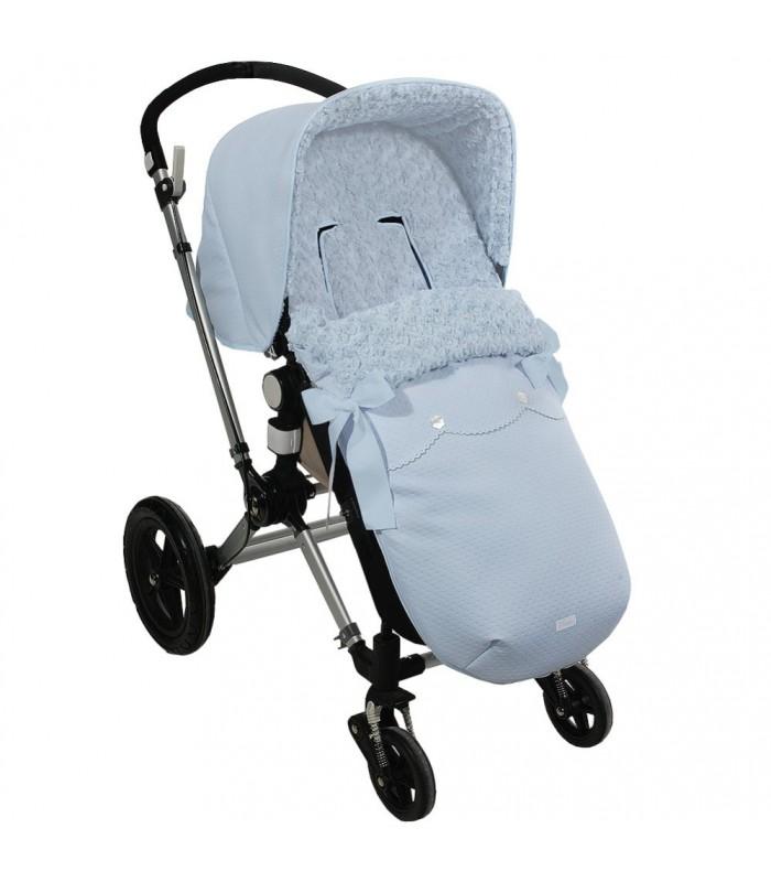Saco polipiel con capota a juego de uzturre para bugaboo camaleon - Saco para silla de paseo chicco ...