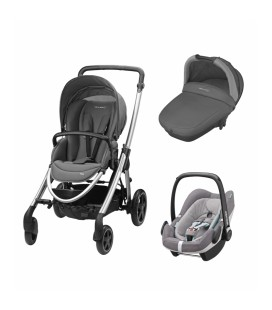Coche trio Elea de Bebe Confort con Pebble plus