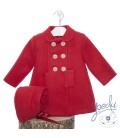 Abrigo clásico bebé con capota de YOEDU