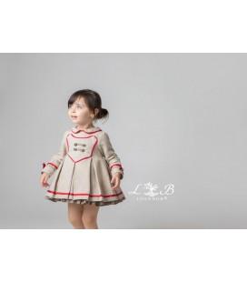 Vestido infantil vestir marquesa de Loan Bor