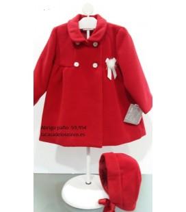 Abrigo vestir bebé con capota de YOEDU