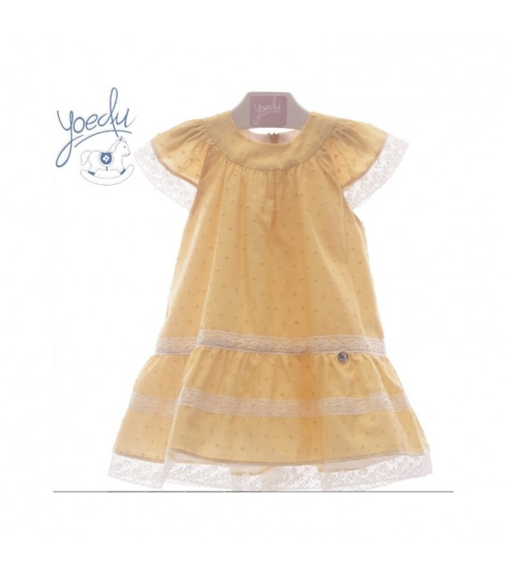 Vestido infantil plumeti PADUA YOEDU