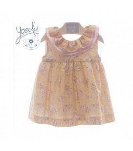 Vestido bebé estampado PADUA YOEDU