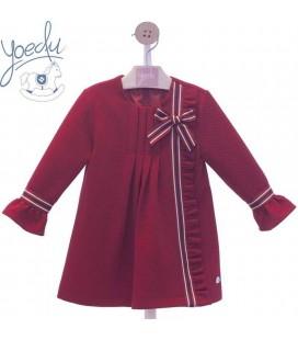 Vestido infantil lazo familia TinTin Yoedu