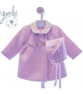Abrigo clásico niña con capota de YOEDU