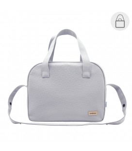 Bolso maternal prome Luxy gris Cambrass