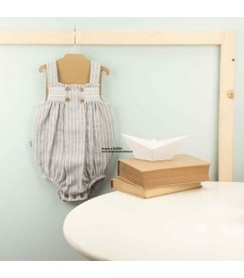 Pelele tirantes bebé Grecia BABIDU