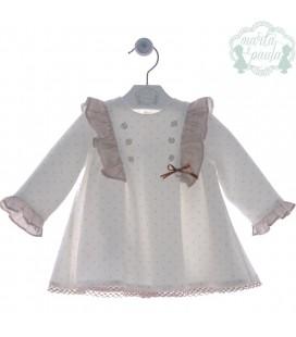 Vestido bebe ceremonia Familia Saltarín de Marta y Paula