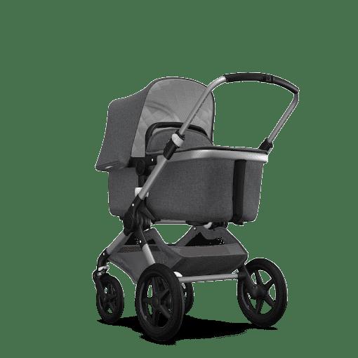 gris melange + chasis aluminio