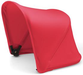 capota rojo neon