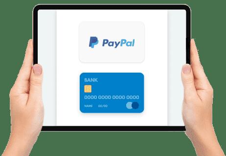 Si tu solicitud es aprobada, introduce tu método de pago.