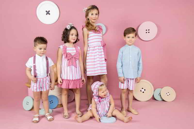 Moda infantil Verano coleeción buganvilla de Yoedu