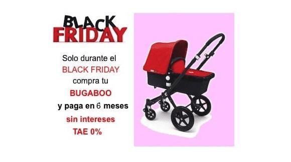 COMPRA TU BUGABOO Y PAGA EN 6 MESES SIN INTERESES DURANTE EL BLACK FRIDAY