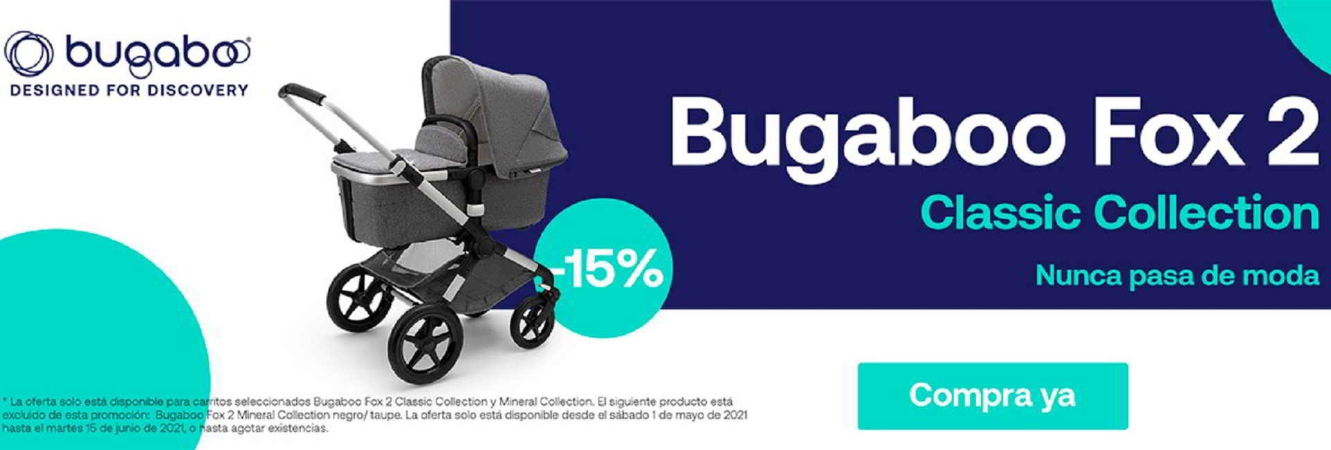 BUGABOO CLASSIC COLLECTION 15 % DE DESCUENTO